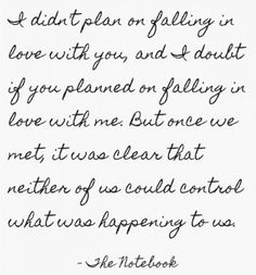 Tell him your love is something that was meant to be.