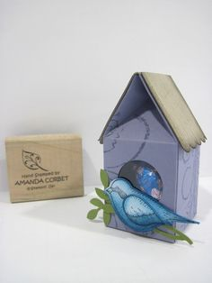 Amanda has a brilliant tutorial for this cute little bird house.