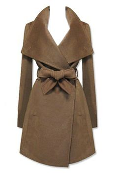 Lovely Lapel Coat for Fall