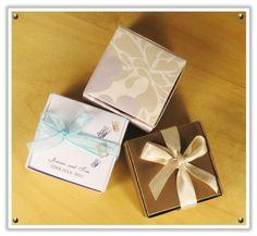 Veiled Haven - The Wedding Inspiration Blog: diy: a fancy wedding favour box