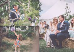 Bride and Groom from a colourful farm wedding | Photography by http://www.naomijanephotography.com/