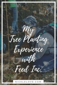 My first tree planting experience was amazing! I loved learning how to do the planting and enjoyed the company with the rest of our team.