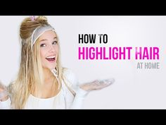 Balayage at home how to youtube hairstyles pinterest today i show you how i highlight my hair at home in a very simple and easy way that you can do completely by yourself link to the highlight kit i solutioingenieria Images