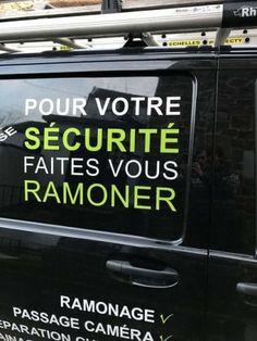 Pour votre sécurité..