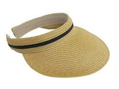 SKU: 486 Fashion sun visor in paper braid with clip-on band. Snug and comfortable fit, padded sweatband Front of brim: 4 in. See also Comfort Clip Heathered Straw Visor Summer Hats For Women, Caps For Women, Straw Visor, Frock Design, Classic Looks, Caps Hats, Fashion Brand, Snug, Vegan