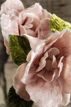 Pink Velvet Millinery Flower