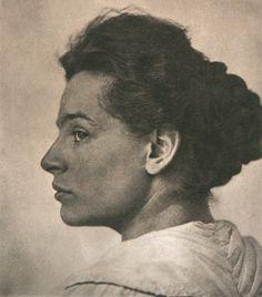 junges mädchen/by hugo erfurth/1898