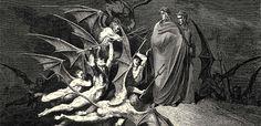 ¿Cómo concebía Dante los infiernos? Conoce los nueve círculos de Dante inmortalizados en La Divina Comedia.