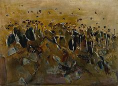 Fred Williams 'Knoll in the You Yangs' 1965 oil on canvas