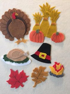 Thanksgiving and the Pilgrims Pattern for A Felt Board Fall Felt Crafts, Autumn Crafts, Holiday Crafts, Felt Board Patterns, Felt Crafts Patterns, Felt Board Templates, Thanksgiving Crafts For Kids, Thanksgiving Decorations, Thanksgiving 2020