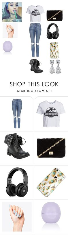 """""""Untitled #188"""" by katelynrodriguez845 ❤ liked on Polyvore featuring beauty, Topshop, New Look and Forever 21"""