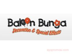 Balon Bunga Decoration #Dekorasi www.ayopromosi.com