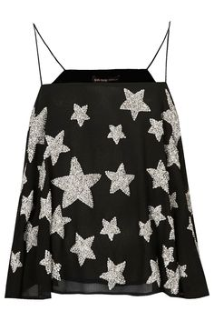Embellished Star Cami Top by Kate Moss for Topshop