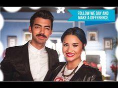 We Day - Celebration with Joe Jonas and Demi Lovato