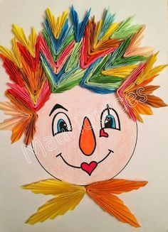 Mauriquices: O Palhaço Pinga Amor! Projects For Kids, Art Projects, Crafts For Kids, Arts And Crafts, Clown Crafts, Paper Art, Paper Crafts, Sensory Boxes, Masks Art