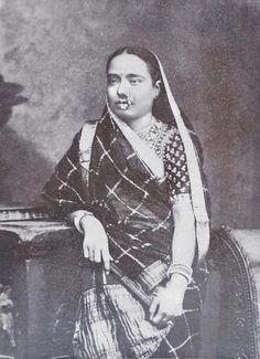 very victorian. so classic \\Towards the End of an Era    saree history