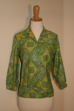 1950's Alfred Paquette of California Blouse