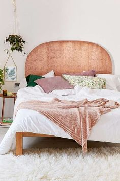 Blair Copper Headboard   Urban Outfitters   Home   Cosy Bedroom #UOEurope #UrbanOutfittersEU #UOHome