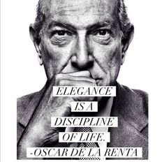 Elegance - Oscar de la Renta
