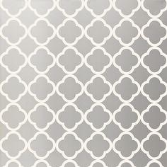 Morocco Silver Wallpaper @Layla Grayce