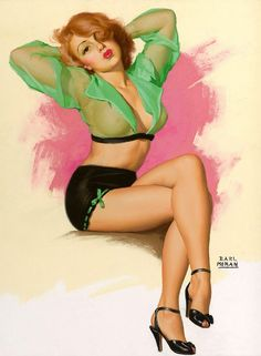 Pin-up girl