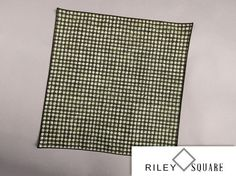 Green Black and White Pocket by RileySquare on Etsy, $22.00