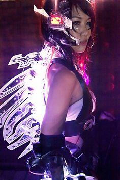 Cyberpunk, ver. 2.0 by mel ell, via Flickr