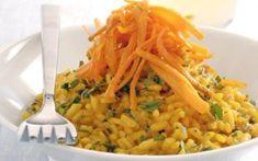 Ριζότο με καρότα και Κρόκο Κοζάνης Risotto, Recipies, Ethnic Recipes, Food, Greek, Kitchens, Recipes, Essen, Meals