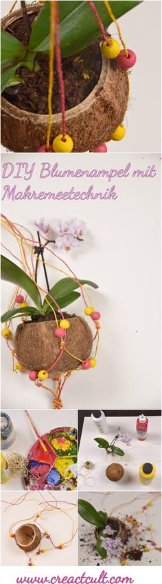 3 DIY Dekorationsideen für den Herbst zum selber machen Diy flower