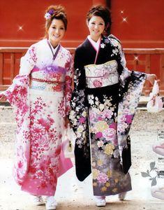 Furisode Kimono 振袖,和服