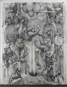 Adonna Khare. Pencil.