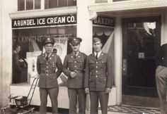 Hampden Baltimore History old photos | This Arundel Ice Cream was on 36th Street in Hampden, Baltimore Md. My ...