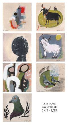 ann wood : sketchbook
