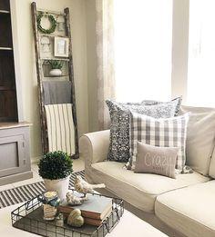 29 modern farmhouse living room decor ideas