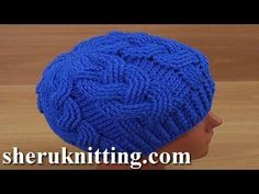 How to Crochet Cable Stitch Hat Tutorial 179 - YouTube