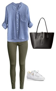 """""""casual"""" by maryemmanuel on Polyvore featuring H&M, Puma and Coach"""