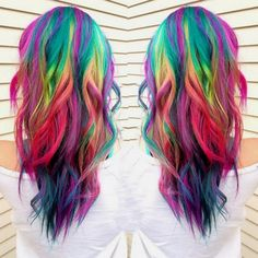 Beauty Lover: Cabelo 46: Multi-color hair