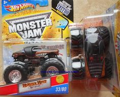 2011 Hot Wheels Monster Mutt Rottweiler #33 Monster Jam Truck tattoo series  #HotWheels #MONSTERJAM