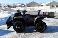2009 Yamaha GRIZZLY 550 FI AUTO 4X4 EPS 4-Wheeler , Realtree Camo, 265 miles for sale in Buffalo, MN