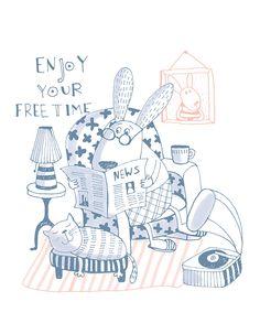 Enjoy your free time:)