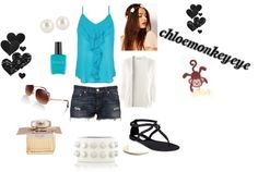 """""""Casual Blues!3"""" by cherrypink062 ❤ liked on Polyvore"""