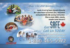 SAFE International Women's Self Defense Courses include Self Defense Parties, High School Self Defense, and Older Adult Self Defense!