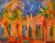 "Yury Ermolenko, ""Yalta embankment. Night"" (Crimean series), 1997, oil on canvas, 70x90cm. #YuryErmolenko #еrmolenko #ЮрийЕрмоленко #ермоленко #yuryermolenko #юрийермоленко #юрийермоленкохудожник #юрiйєрмоленко #ЮрiйЄрмоленко #єрмоленко #rapanstudio #modernart #fineart #contemporaryart #painting #impressive #colorful #art #picture #живопись #artwork #PleinAir #пленэр #texture #фактура #landscape #crimea #крым #yalta #embankment #night #light #ялта #ночь #набережная"