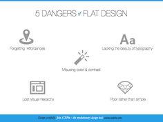 5 Dangers of Flat Design