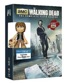 The Walking Dead: The Complete Fifth Season 5 (DVD + Daryl Funko Toy, 2015)