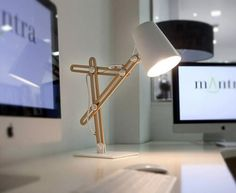 Love the multi-arm adjustability of this lamp. I'm sure there are undiscovered applications for this