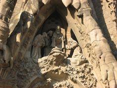 Smaller portion of Segrada Familia