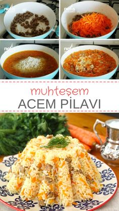 Acem Pilavı (videolu) – Nefis Yemek Tarifleri – Pilav tarifi – The Most Practical and Easy Recipes Turkish Recipes, Italian Recipes, Best Hummus Recipe, Healthy Comfort Food, Fresh Fruits And Vegetables, Iftar, Vegetable Dishes, Meals For One, Food Pictures