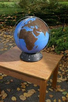 Land and Water Globe (Photo from What DID We Do All Day?)
