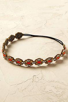 Gilded Coral Headband - anthropologie.eu